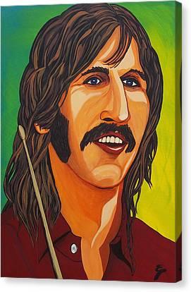 Ringo Star    Stick Canvas Print