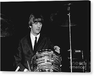 Ringo Starr, Beatles Concert, 1964 Canvas Print