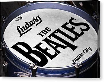 Ringo's Drum Canvas Print by Ron Regalado