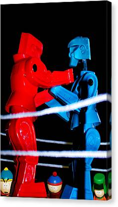 Ringside Canvas Print by Pat Cook