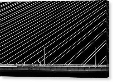 Greece Canvas Print - Rio Bridge by Gianni Giatilis