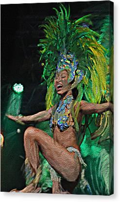 Rio Dancer I A Canvas Print