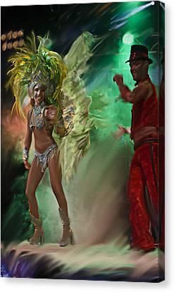 Rio Dancer II A  Canvas Print