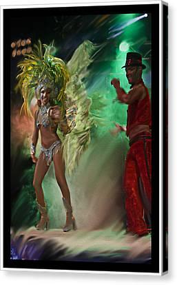 Rio Dancer II B  Canvas Print