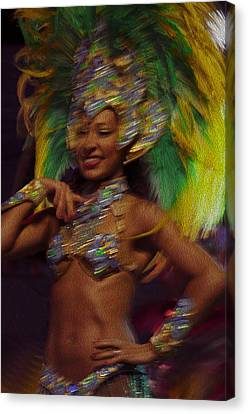 Rio Dancer IIi A Canvas Print