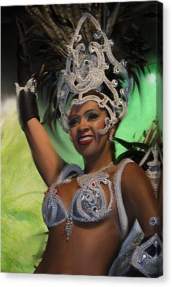 Rio Dancer Iv A Canvas Print