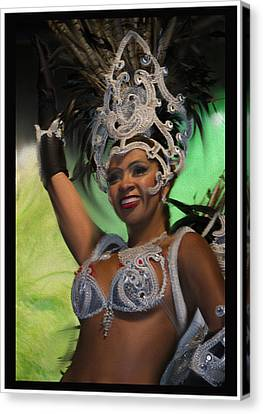 Rio Dancer Iv B Canvas Print