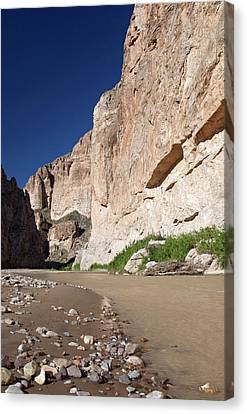 Rio Grande In Boquillas Canyon Canvas Print by Jim West