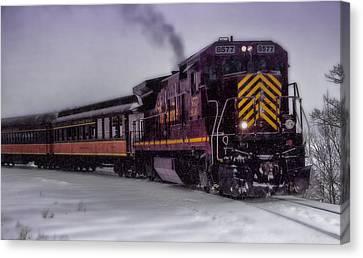 Rio Grande Scenic Railroad Canvas Print by Ellen Heaverlo