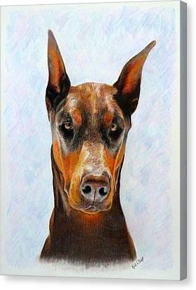 Painted Details Canvas Print - Rio by Kat DeLap