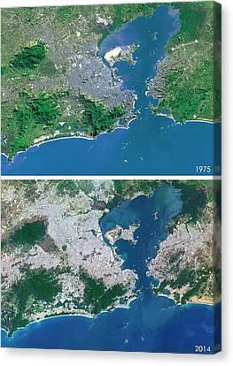 Rio Canvas Print by Planetobserver