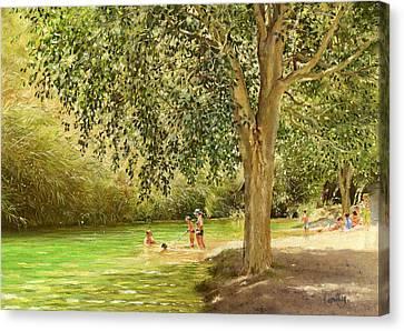 Rio Toba Canvas Print by Margaret Merry