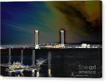 Rio Vista Bridge Canvas Print