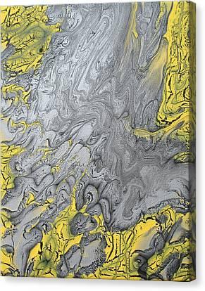 Undertow Canvas Print - Rip Current by Nimble Sloth Studio