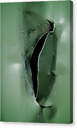Rip Canvas Print by Odd Jeppesen