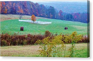 Rip On The Countryside Canvas Print by Sherry Brant