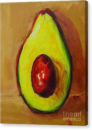 Interior Still Life Canvas Print - Ripe Avocado by Patricia Awapara