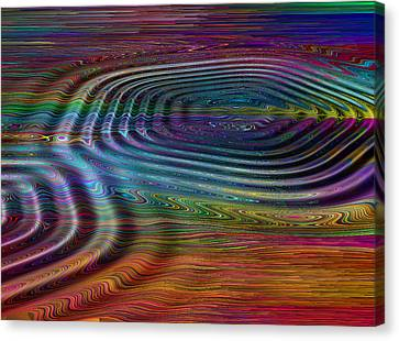Ripple Fx 3 Canvas Print by Wendy J St Christopher
