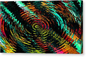 Ripple In Time Canvas Print by Josephine Ring