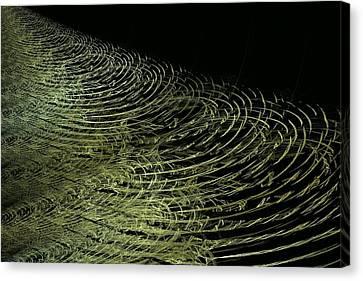 Ripples Canvas Print by Doug Morgan