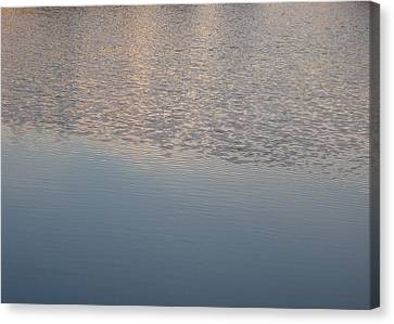 Canvas Print featuring the photograph Ripples by Laurie Stewart