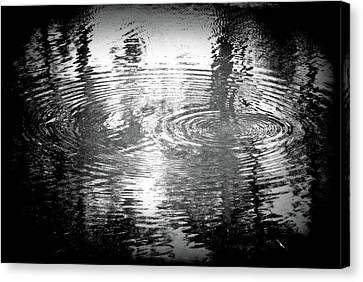 Canvas Print featuring the photograph Ripples by Michael Dohnalek