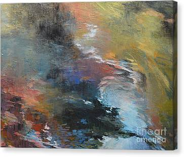 Ripples No. 2a Canvas Print by Melody Cleary