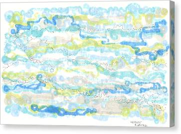 Ripples Canvas Print by Regina Valluzzi