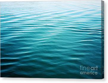 Canvas Print featuring the photograph Ripples by Sylvia Cook