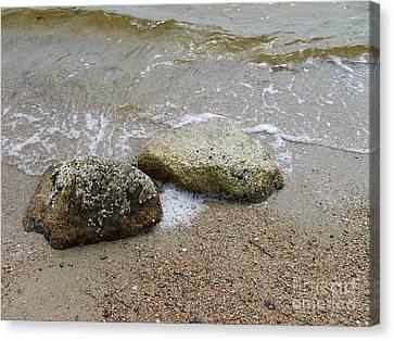 Rippling Seaside Tide Canvas Print