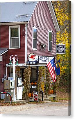Ripton Country Store Canvas Print by Charles Harden
