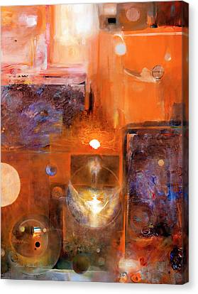 Canvas Print featuring the painting Rise And Shine 1 by Brooks Garten Hauschild