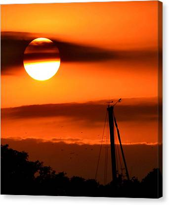 Canvas Print featuring the photograph Rise And Shine by Deena Stoddard
