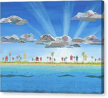 Rise And Shine Canvas Print by Jennifer Peck