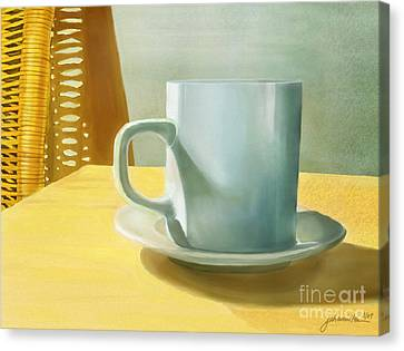 Rise And Shine Canvas Print by Joan A Hamilton