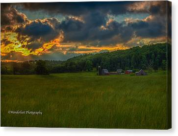 Rise And Shine Canvas Print by Paul Herrmann