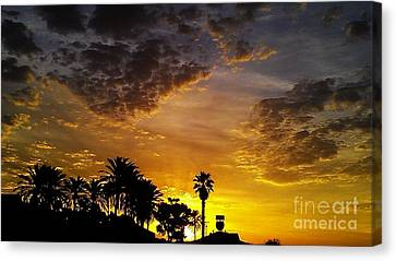 Canvas Print featuring the photograph Rise by Chris Tarpening