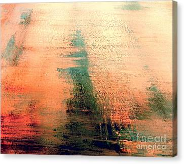 Canvas Print featuring the painting Rise by Jacqueline McReynolds