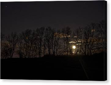 Rising Moon Canvas Print