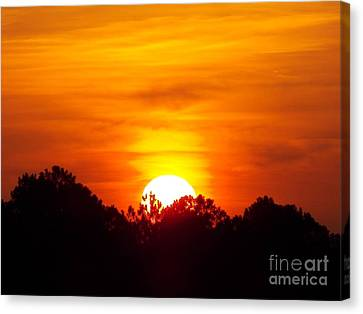 Rising Sun Canvas Print