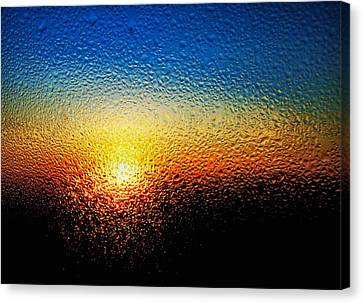 Rising Sun Canvas Print by Tom Druin