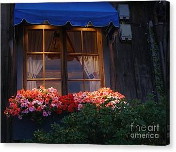 Ristorante Canvas Print by Bev Conover
