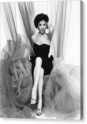 Rita Moreno, Paramount Portrait, Circa Canvas Print by Everett