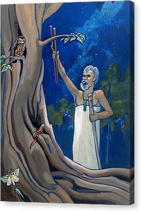 Aotearoa Canvas Print - Rituals by Patricia Howitt
