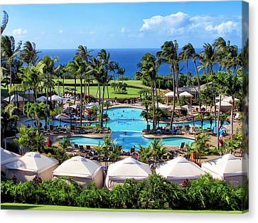 Ritz Carlton 17 Canvas Print