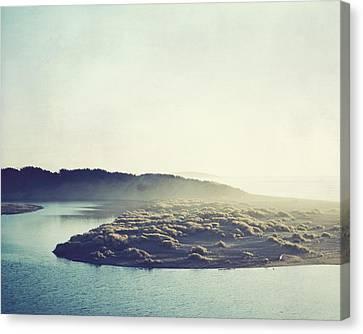 River Ans Sea Canvas Print