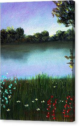 Interior Canvas Print - River Bank by Anastasiya Malakhova