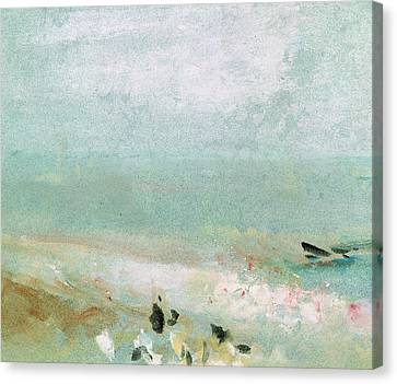 Williams River Canvas Print - River Bank by Joseph Mallord William Turner