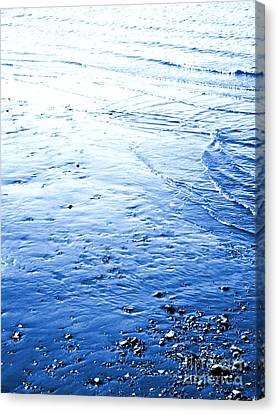Canvas Print featuring the photograph River Blue by Robyn King