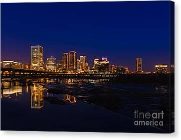 River City Blue Canvas Print